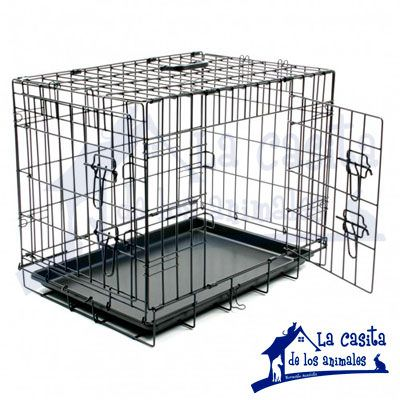 jaula para perro www.lacasitadelosanimales.com