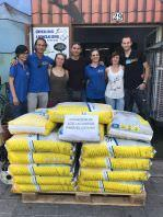 donacion la casita de los animales a CIPA Alcorcon